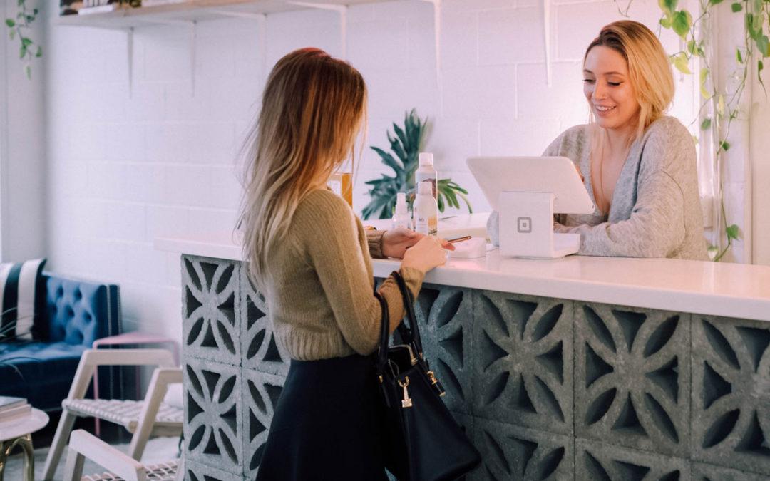 Recepcja – kluczowe miejsce wpływające na sprzedaż w Twoim salonie beauty.